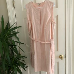 NWT Gap Baby Pink Sleeveless Dress Size 14